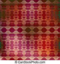 Background with ethnic motifs.