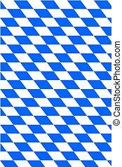Bavaria - Background with flag of Bavaria