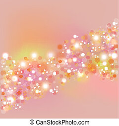 Background with flare. vector