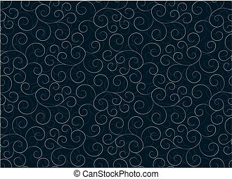 background with flower pattern.