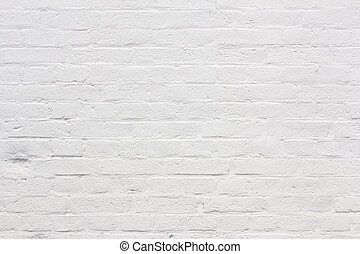 background with fragment of white brick wall - background...