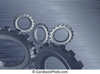 background with gears