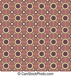 Background with geometric ornaments