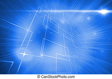 Background with glowing lines