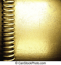background with gold