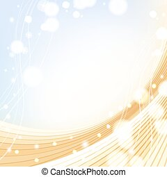 background with golden colors and sparkles