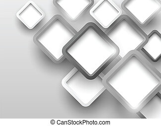 Background with gray squares. Abstract illustration