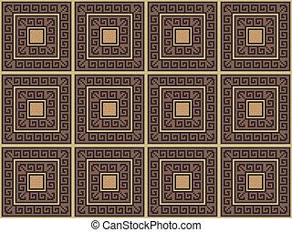 background with greek pattern