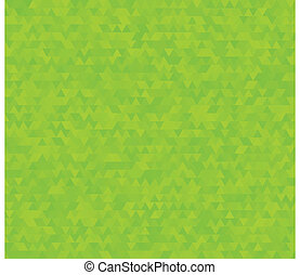 background with green triangles