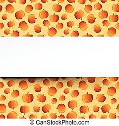 Background with halloween pumpkins pattern.