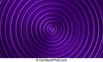 Background with hypnosis visualisation endless circles. ...