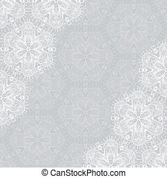 Background with lace ornament and space for your text