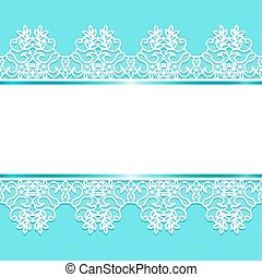 Background with lace