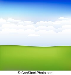 Background With Landscape