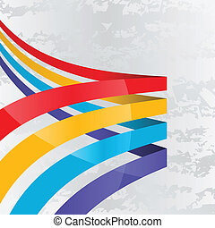 Background with lines - Abstract background with four lines...