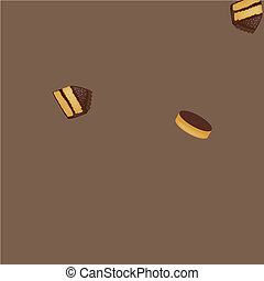 Background With Muffins