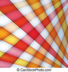 Background with multicolored crossed rays