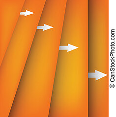 Background with orange lines