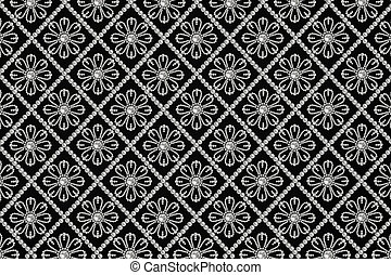 background with pearls pattern