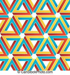 Background with Penrose triangles