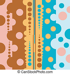 Background with polka dots