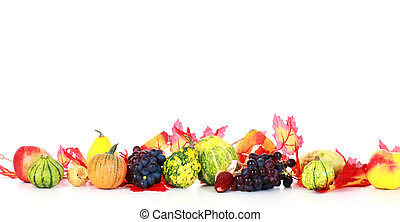 Thanksgiving - Background with pumpkins for Thanksgiving