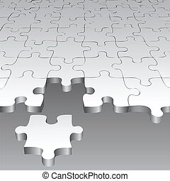 puzzle  - Background with puzzle pieces