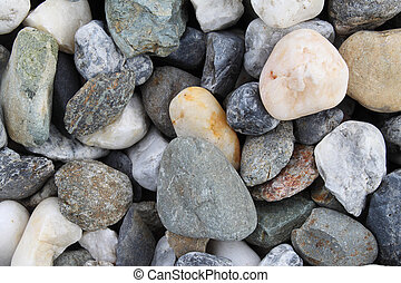 Background with river stones