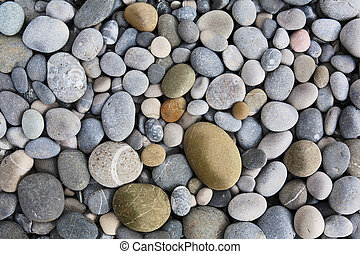 background with round peeble stones