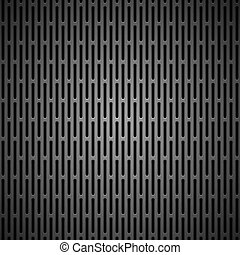 Background with Seamless BLack Carbon Texture - Technology...
