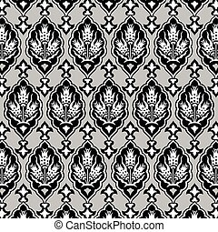 background with seamless pattern fo