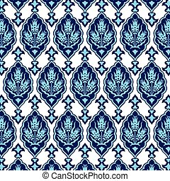 background with seamless pattern on