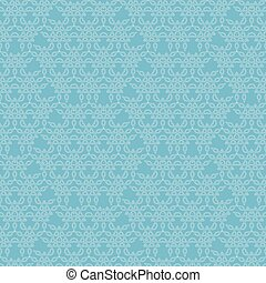 Background with Seamless Pattern.