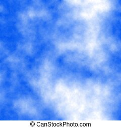Background with seamless sky texture. Colors: blue, denim, purple heart, navy blue, blue violet.