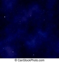 Background with seamless starry sky pattern. Colors: purple mountains??? majesty, violet (purple), blue bell, indigo, wild blue yonder.