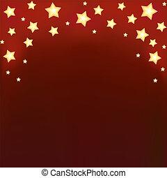 Background with shiny cartoon stars