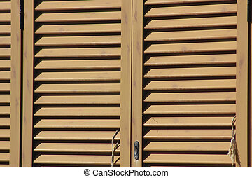 background with slats of a wooden door