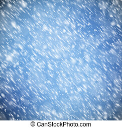 Background with snow - Natural background with snow. Eps 10