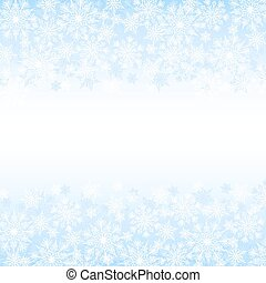 background with snowflakes - Christmas card with snowflakes ...