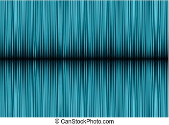 Background with sound wave.