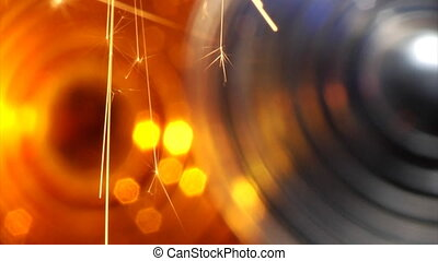 background with sparkler