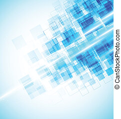 Background with squares - Abstract bright background with...