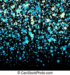 Background with Stars. Design Template. Abstract