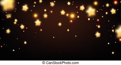 Background with stars.
