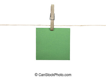 Background with twine and paper
