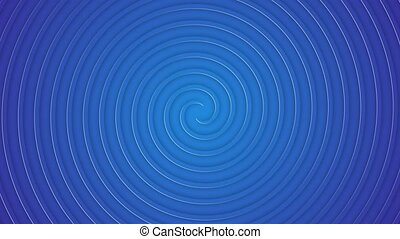 Background with twisting spiral circles effect. Hypnosis ...