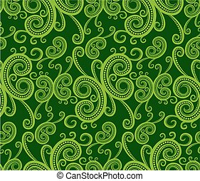Background with vegetable pattern.