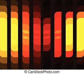 Background with Vertical Color Cells