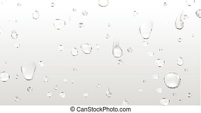 Background with water drops.