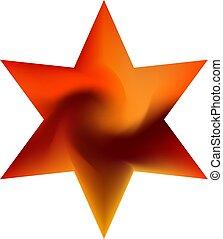 backgrounds., chromatic, conjunto, hexagram